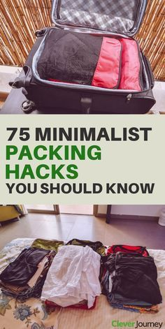 75 Packing Tips For International Travel (All Essential) 75 minimalist packing hacks for organized travel. With these 75 packing tips for international travel, you will learn how to pack lighter, avoid overpacking and what items you should take. Packing Tips For Vacation, Vacation Trips, Vacation Packing, Mission Trip Packing, Cruise Packing Hacks, Vacation Quotes, Dream Vacations, Travel Quotes, Travel Photographie