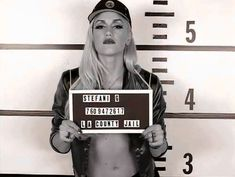 Celebrity Mug Shots: Gwen Stefani mug shot