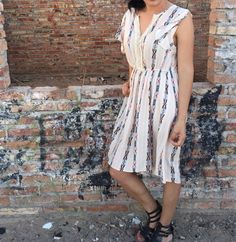 Navajo print dress. Comfortable and lightweight for traveling. Great spring outfit or summer outfit. Perfect for Coachella, outdoor concerts and outdoor festivals!  http://www.lunamilanshop.com/collections/dresses/products/navajo-print-dress?variant=16467952321