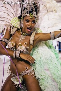 Samba costume