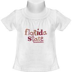Girlie Tee w/Florida State Seminoles