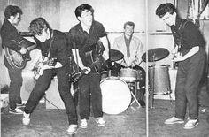"John, George & Paul during ""The Quarrymen"" days Circa 1957."