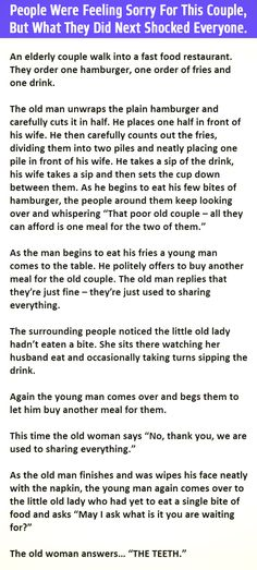 Everyone Thought His #Wife Wasn't Eating, Until She Said This #LOL #Funn #Hilarious