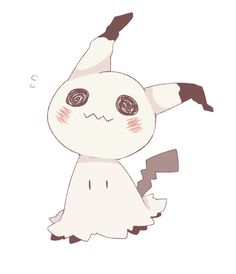 Everyone's playing Pokemon Go but I'm over here loosing my mind over Mimikkyu! The adorable spooky pokemon that disguises itself as pikachu so it can make friends! Too cute!