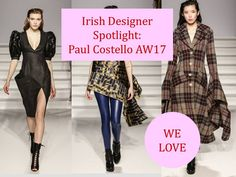 Paul Costello's AW17 collection hits the mark with stand-out pieces that worked on the runway and will work your day-to-day wardrobe too. We can't wait to check out his new arrivals in Dunnes Stores.