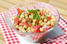 Ízzel-lélekkel készült receptek: 5 perces csicseriborsó saláta portugál módra Fruit Salad, Cantaloupe, Potato Salad, Food And Drink, Potatoes, Vegetables, Ethnic Recipes, Muffin, Diet