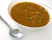 Spicy Lentil Soup by Ellie