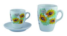 """Tazze caffe e latte in porcellana """"Il Giardino delle Meraviglie""""  www.ancap.it"""