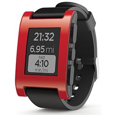 Pebble Smart Watch for iPhone and Android Devices (Red) Pebble Technology Corp http://www.amazon.com/dp/B00EULMBZC/ref=cm_sw_r_pi_dp_fDpYvb0DGH07V