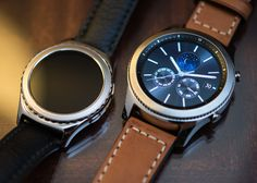 Samsung Gear Frontier & Classic Smartwatches Hands-On Debut Hands-On Samsung Gear 3, Samsung Gear S3 Frontier, Old Watches, Seiko Watches, Watches For Men, Smartwatch, Smartphone, Android Watch, Cool Electronics