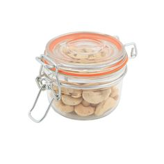 Genware Glass Terrine Jar 170ml 8.1 x 6.5cm