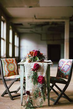 modern wedding inspiration, photo by Cluney Photo http://ruffledblog.com/cinco-de-mayo-wedding-inspiration-with-macrame #cincodemayo #weddingideas