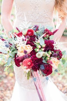 Autumnal Vineyard Wedding Inspiration | Cathy Durig Photography | We Tie The Knots | Bridal Musings Wedding Blog 22