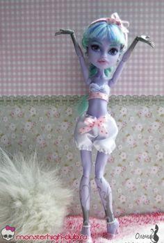 Bielizna i sandały dla Monster High | Monster High Club,