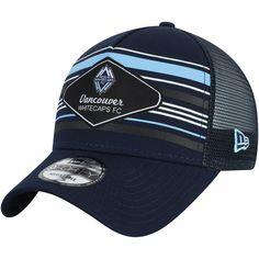 c667d59693016f Men's Vancouver Whitecaps FC New Era Deep Sea Blue Shoreline 9FORTY  Adjustable Snapback Hat,