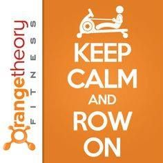 Row row row your.. way into fitness! Classes available for this weekend! Come and get your orange on!