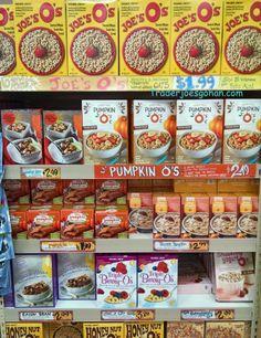 トレーダージョーズのパンプキンシリアル Trader Joe's Pumpkin O's Cereals