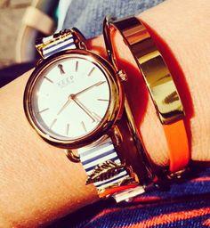 Love this bracelet combination!