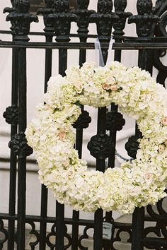 white floral wreath | Virgil Bunao #wedding