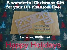 #ChristmasGiftIdeas for your #DJI #phantom #pilot #UAV from UAVbits.net Happy Holidays to YOU... :)