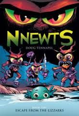 "The latest very-well-drawn Doug TenNapel graphic novel starts a multi-book sequence pitting good amphibians against evil reptiles in a magic-filled world where ""weretoads"" threaten and the constellation Orion has a hand (and a bow and arrow) in events. Just one of many kids' books reviewed at www.infodad.com. Direct link: http://transcentury.blogspot.com/2014/12/ggood-gguys-bbad-gguys.html"