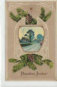 1912 Art Nouveau/Jugendstil Finnish postcard