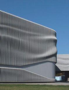 Multiperforated metal facade ba patisserie istanbul for Garden design generator
