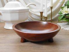 Munising Wooden Bowl by LittleDixieVintage on Etsy