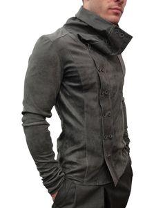 Delusion Leather Jacket Harlequin