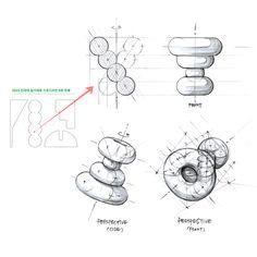 2019년 건대 실기대회 8부의 회전축 문제 풀이 Image, Sketch, Design, Sketch Drawing, Sketches, Tekenen, Draw
