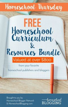Homeschool Thursday: