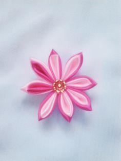 8 PF DC. Colour : Dark Pink and Light Pink. Diameter 6 cm.