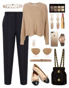 """Senza titolo #7201"" by waikiki24 ❤ liked on Polyvore featuring Chanel, Bally, STELLA McCARTNEY, Gucci, Oliver Peoples, Casetify, Movado, NARS Cosmetics, Max Factor and Christian Dior"