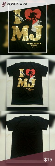 Michael Jackson Immortal Tour Shirt Excellent pre owned condition.  Size: M  Brand: Cirq du Soliel Rn#105897  Color: Black/Gold/Red  Made in Haiti  100% cotton   Smoke and Pet free home. Cirq Du Soliel Shirts Tees - Short Sleeve
