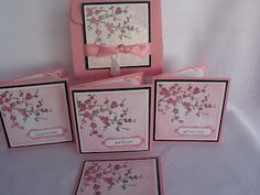 Stampin Up Easter Blossoms Box set