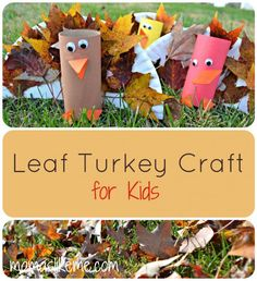 Paper Plate Leaf Turkey Craft for Kids