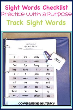 Tracking Sight words Ideas for Sight Word Activities that are fun, easy and effective during guided reading small groups!  Great for teaching hands on, using games, magnetic letters, flash cards printables, worksheet alternatives, for any list.  Perfect for struggling readers too!  #phonics #sightwords #guidedreading #sightwordactivities #classroom #elementary #conversationsinliteracy #kindergarten, #firstgrade #secondgrade #thirdgrade kindergarten, first grade 2nd grade, 3rd grade