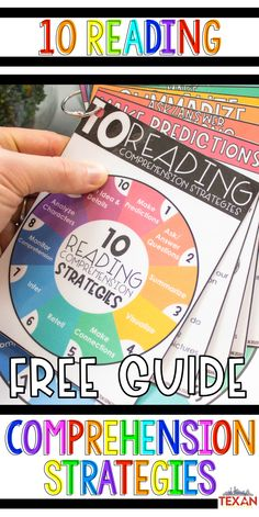 Guided reading is a staple in my classroom, but what reading strategies should I be focusing on during that time? I love this free guide for helping to determine what comprehension strategies to teach AND that it gives prompts to help guide student thinking. Perfect for Kindergarten, First Grade and Second Grade teachers!