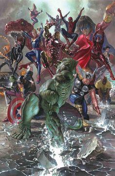 Legado Marvel - Capa por Alex Ross