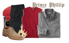 """""""Prince Phillip (Sleeping Beauty)"""" by claucrasoda ❤ liked on Polyvore featuring Loro Piana, Paul Smith, Throne, TravelSmith, Brooks Brothers, Tiffany & Co., L.L.Bean, Modern Fiction, men's fashion and menswear"""
