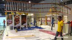 How to build 60 sqm. exhibition stand in under 21 hours