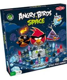 Angry Birds Space Race Game.