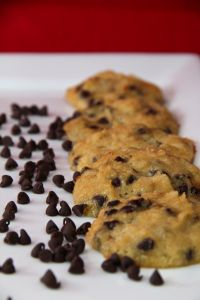 Coconut-lovers, gather 'round. Chocolate chip cookie-lovers should come on over, too. Today's recipe is for a chocolate chip cookie like no other. Made with coconut flour, coconut oil, coconut suga…