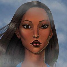 Pocahontas final by mipiel.deviantart.com on @deviantART