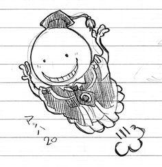 Drawing Koro-sensei
