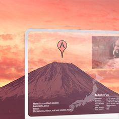 Future of Internet Search: Mobile version by Mac Funamizu, via Behance