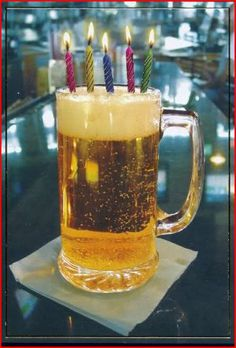 Happy birthday BEER for guy buddies -