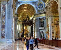 Basílica de San Pedro, Ciudad del Vaticano - NOV 2014.