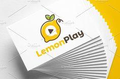 Lemon Play | Logo Template by REDVY on @creativemarket