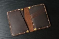 Men's Leather Wallet / Personalized Leather Wallet / от lotussilk